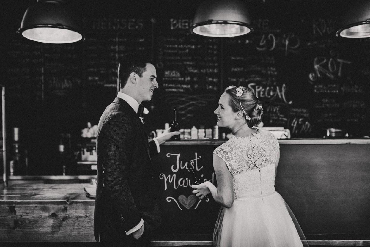 unkonventionelle Hochzeit