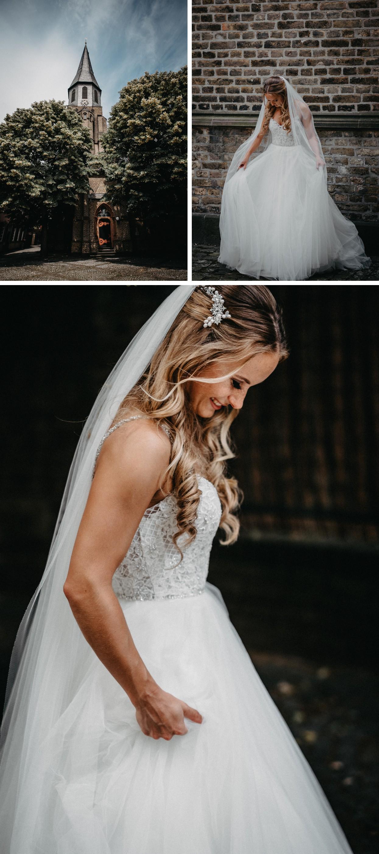 Brautkleid / Schleier