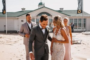 Hochzeit am Strand Holland